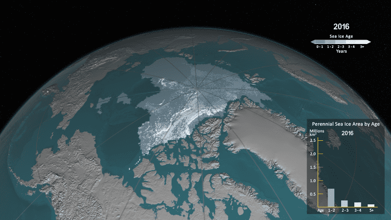 Льды Арктики 2016
