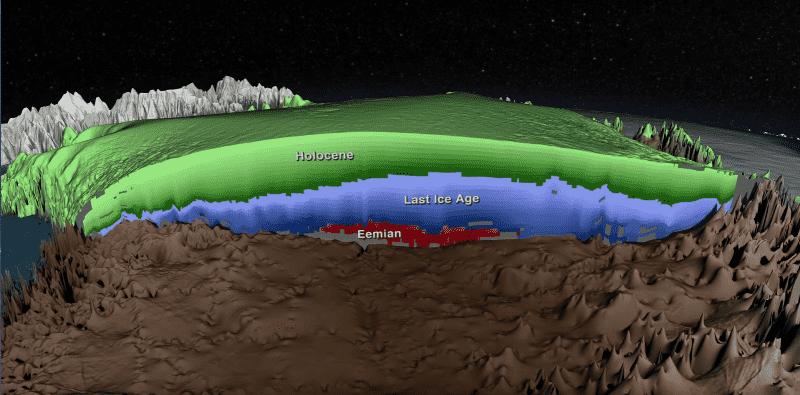 Исследование ледников, моделирование