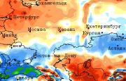 Долгосрочный прогноз погоды на июнь 2021