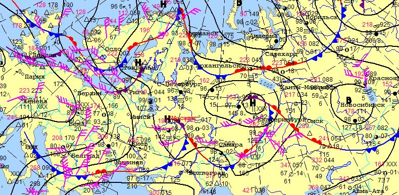 Погода в Перми в июле 2017