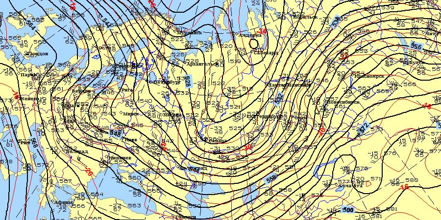 Погода в ноябре 2017