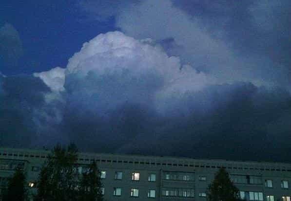 Гроза в Пермском крае 2 октября
