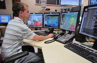 Рабочее место метеоролога