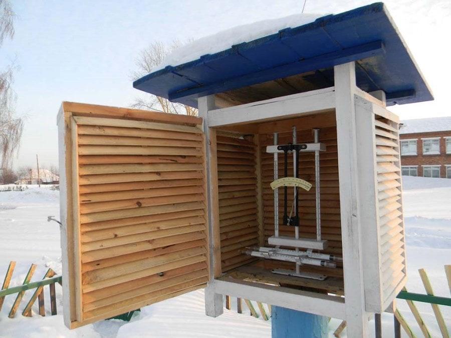 Метеорологическая будка, психрометрическая будка